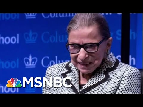 Justice Ginsburg Released From Hospital After Fracturing Ribs In Fall | Craig Melvin | MSNBC
