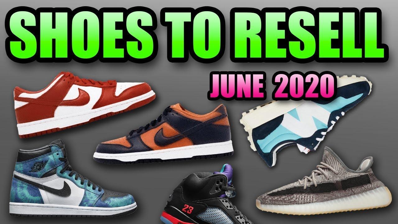 The Best Sneaker Releases In June 2020