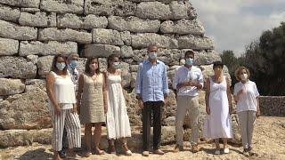 Felipe VI y Letizia protagonizan su primera visita a Menorca como Reyes