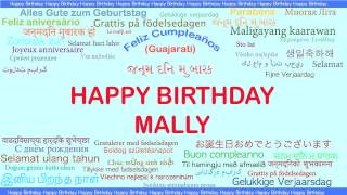 Mally   Languages Idiomas - Happy Birthday