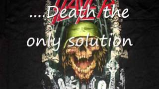 Expendable Youth Slayer lyrics