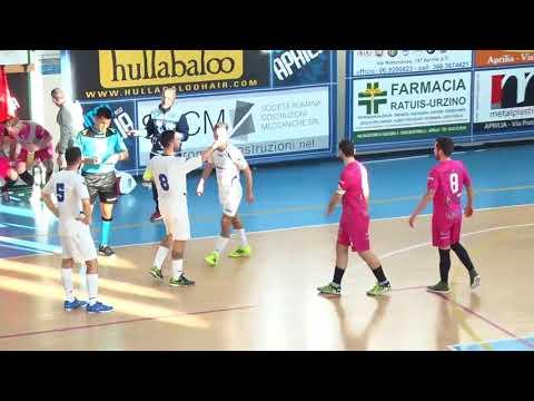 Calcio a 5, Serie C1: United Aprilia - Atletico Anziolavinio, integrale