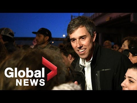 Beto O'Rourke holds counter-rally during Trump MAGA event Mp3