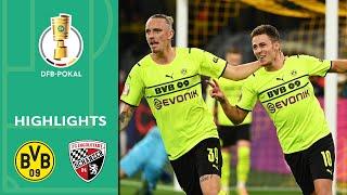 2 x Hazard sichert BVB-Sieg | Dortmund - FC Ingolstadt 2:0 | Highlights | DFB-Pokal 2. Runde