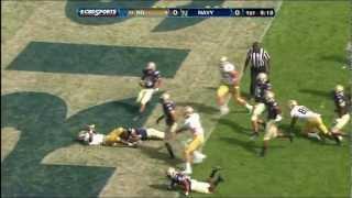Notre Dame Football vs. Navy Highlights - Sept. 1, 2012