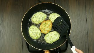 Обалденные кабачковые оладьи! Всего один ингредиент полностью меняет вкус блюда… | Appetitno.TV