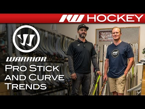 Pro And Retail Hockey Stick Trends In 2018 // Warrior Pro Stick Office