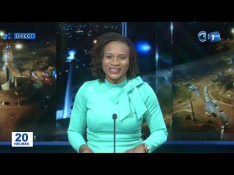 Journal télévisé de 20h de Gabon 1ère du 17 janvier 2020