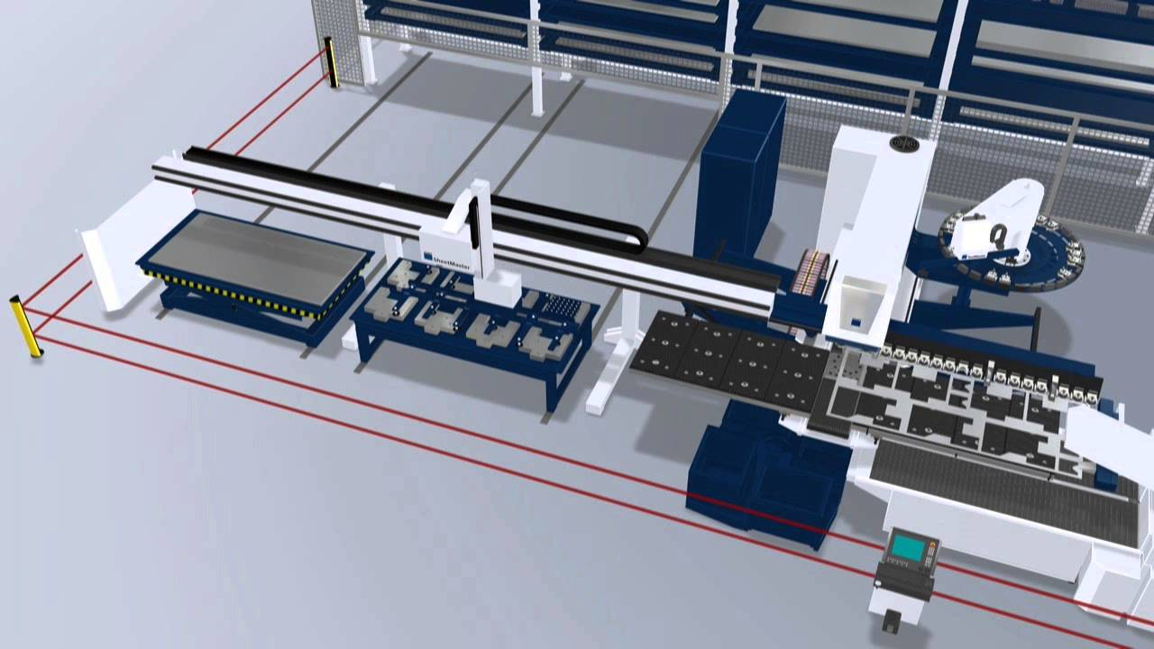 Trumpf Automation Fully Automated Flows Of Materials And