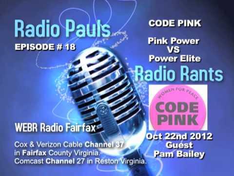 Code Pink RPRR 10-22-2012