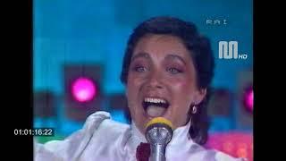 """1981 Rai Rete1 Sanremo 81  Ricchi e Poveri """"sarà perchè ti amo"""""""