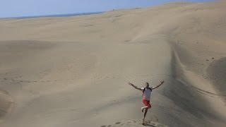 The best winter holiday destination? Maspalomas, Gran Canaria.
