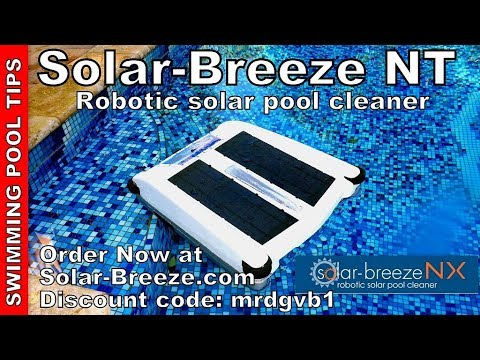 Thumbnail: Solar-Breeze NX Robotic Surface Solar Pool Cleaner