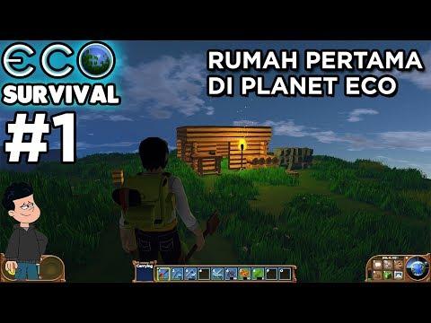 ECO INDONESIA - Rumah pertama di planet eco