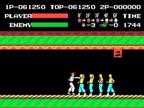 Gioco per MSX - Kung Fu - www.glianni80.it