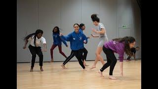 Dance Journeys 2020: Eno, Kayla and Caroline (Bishop Challoner School)   English National Ballet