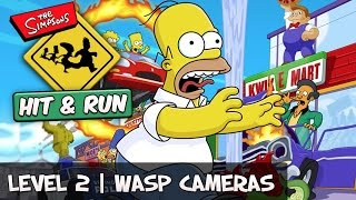 The Simpsons Hit And Run - Level 2 All Wasp Cameras