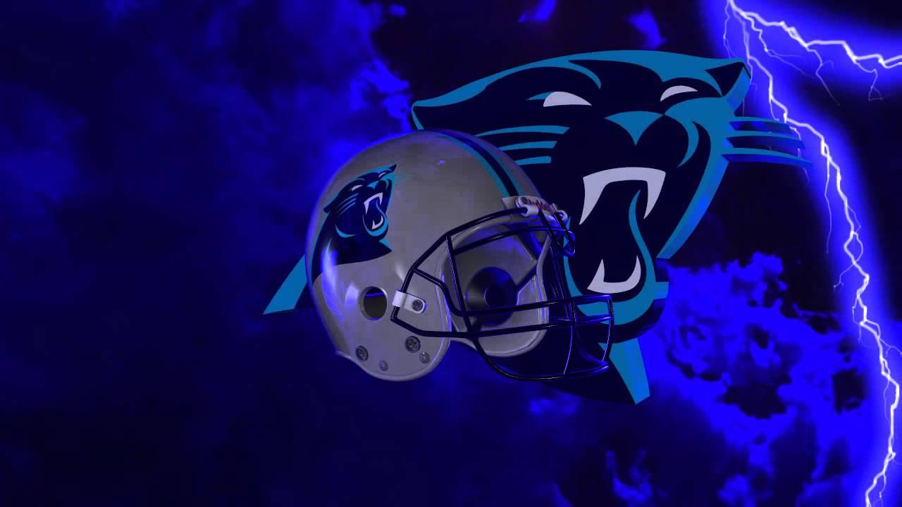 Carolina Panthers Helmet And Logo Lightning Experience Youtube