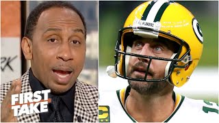 I would want out of Green Bay if I were Aaron Rodgers - Stephen A.   First Take