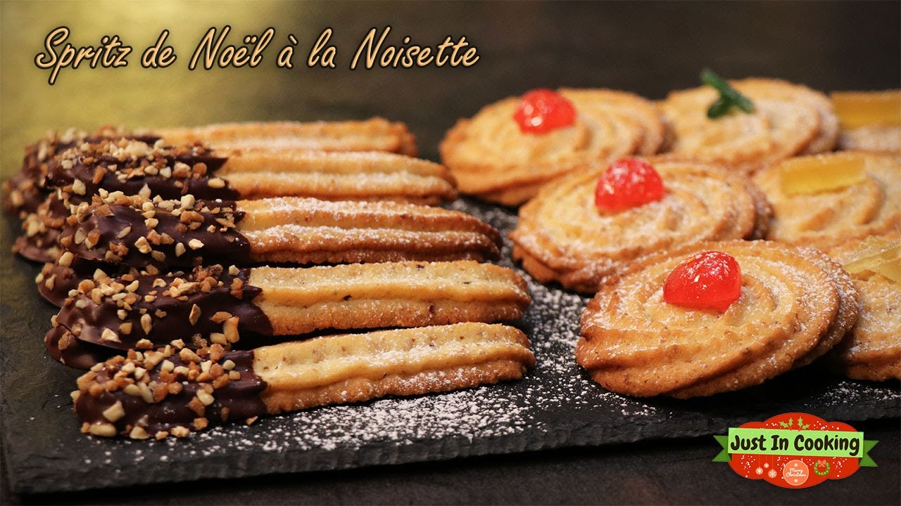 Café Noisette C Est Quoi ❅ recette des spritz de noël à la noisette ❅