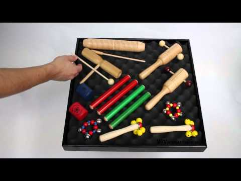 Kids Percussion Set - 12 Instruments - 3+ video