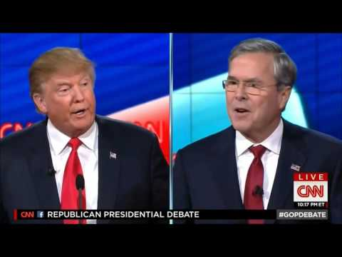 GOP Debate - Trump THUG LIFE