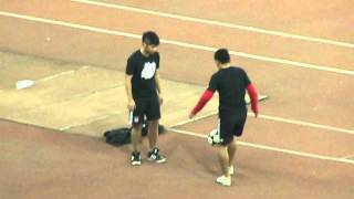 Crazy Indian freestylers at Jawaharlal Nehru Stadium, New Delhi!