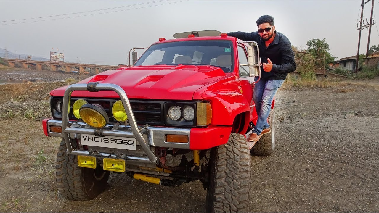 Indian Monster Truck | Monster Truck Modified Car Mumbai India - YouTube