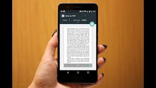 How to Convert Image to PDF in Android (No App)