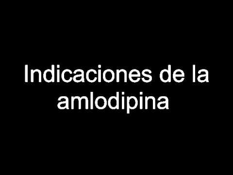 Indicaciones de la amlodipina