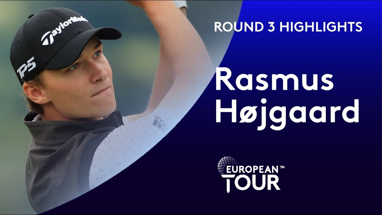 Rasmus Højgaard shoots 5 under par | Betfred British Masters
