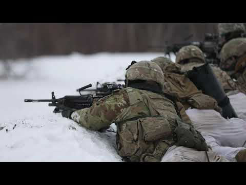 Commandos Endure Icy Platoon Live Fire Training FORT DRUM, NY, UNITED STATES 11.13.2019