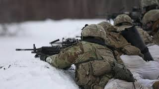Commandos endure icy platoon live fire training FORT DRUM, NY, UNITED STATES 11.13.2019