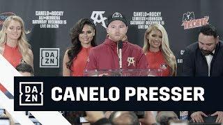 Canelo Alvarez Post-Fight Press Conference