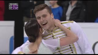 Короткая программа российских фигуристов Натальи Забияко и Александра Энберта чемпионат мира 2017