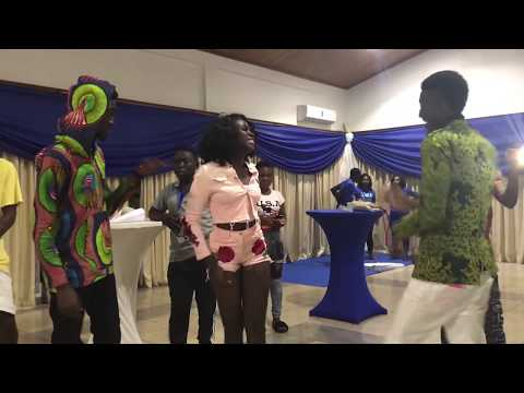 Surprisingly 3 Ghana Movie Stars Dance At ALL Stars Party To
