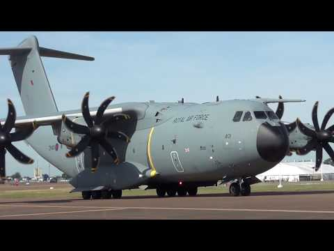 Monday Departures (P&V East) RIAT Fairford 17-07-2017 Part 2/6