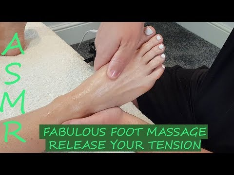 [ASMR] Fabulous Foot Massage -Release your Tension [No talking][No Music][Massage Sounds]