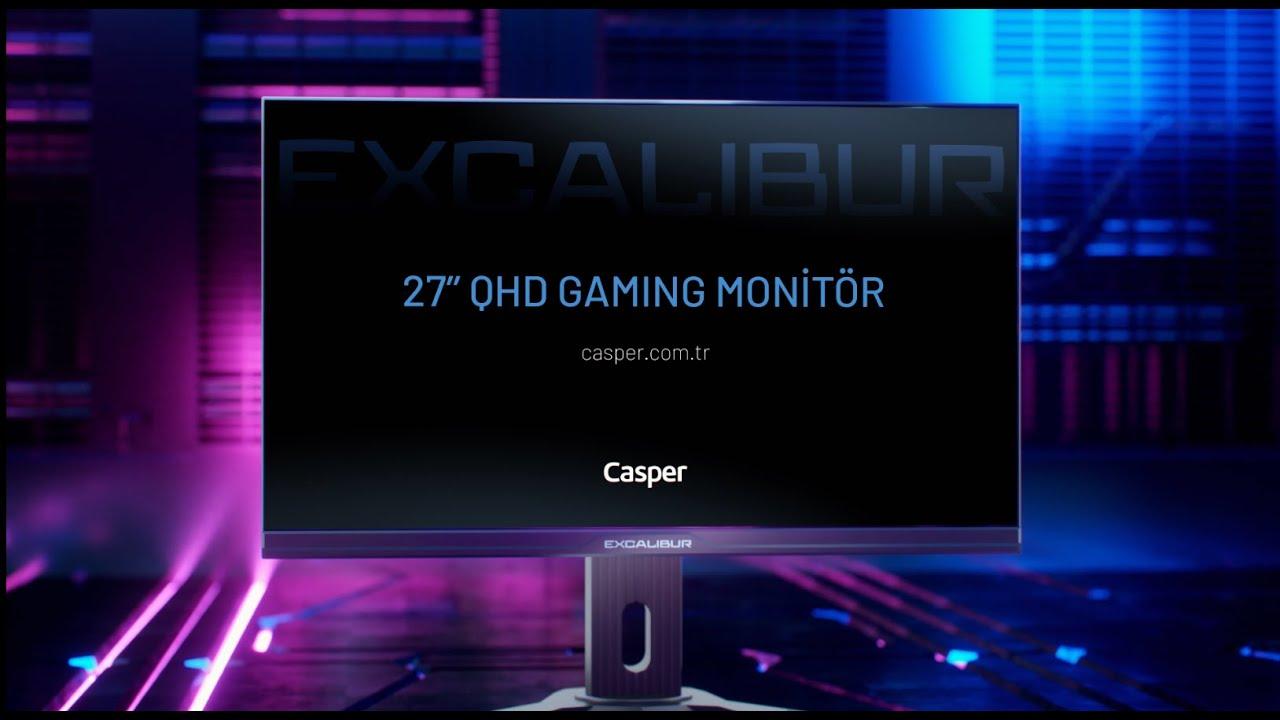 Excalibur 27'' E27QHD-G Monitör Özellikleri | Yenilenen Performans | Casper