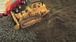 Building a Road with RC Construction Machines - Part 3. Big RC Fun!
