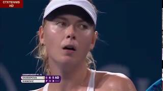 Maria Sharapova VS Ana Ivanovic Highlights 2015 Brisbane Championship FINALS