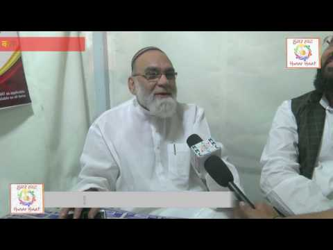 Syed Ahmed Bukhari in hunar haat