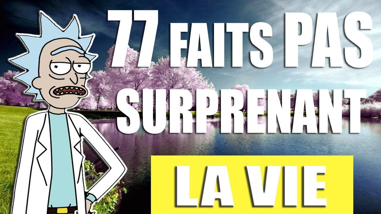77 FAITS PAS SURPRENANT SUR LA VIE !! (PARODIE DOCSEVEN)