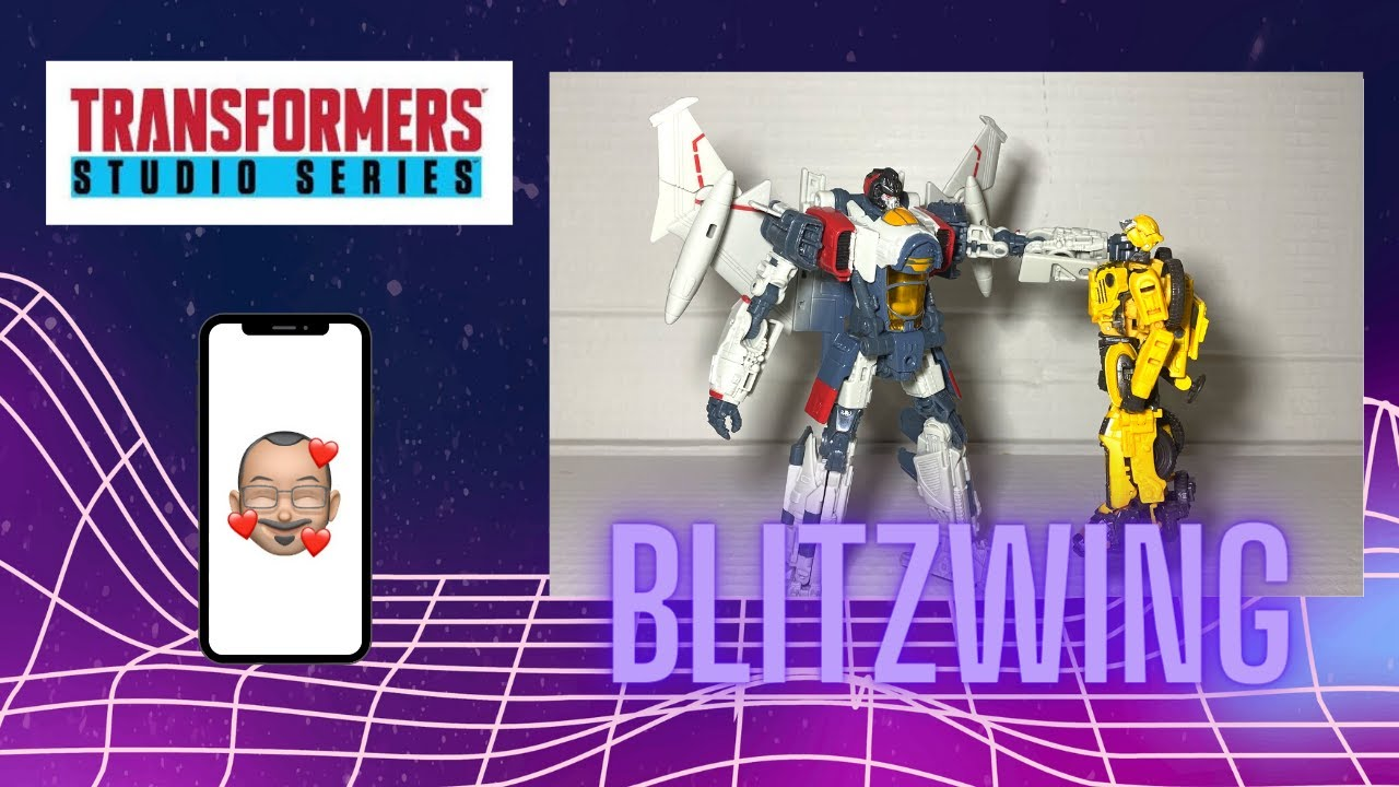 Studio Series Blitzwing Review By Aikavari