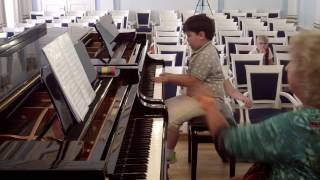 Мастер-класс М.А. Марченко (фортепиано). Часть I.