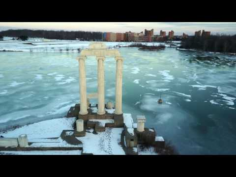 Drone Video - Baird Point at the University at Buffalo