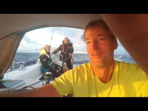 ocean sailing Maui to Victoria-18.5 days from Hawaii Aug 2016 on Beneteau 43 ION
