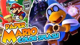 ¡Las rimas de Kamek! - #37 - Paper Mario Color Splash (Wii U) en Español