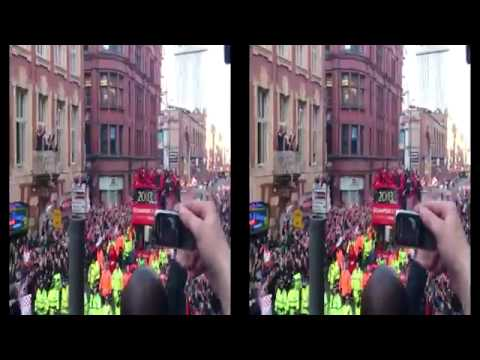 Man united 2013 champions parade