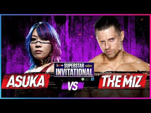 ASUKA Vs. THE MIZ : Rd. 1 - WWE 2K18 Superstar Invitational Tournament